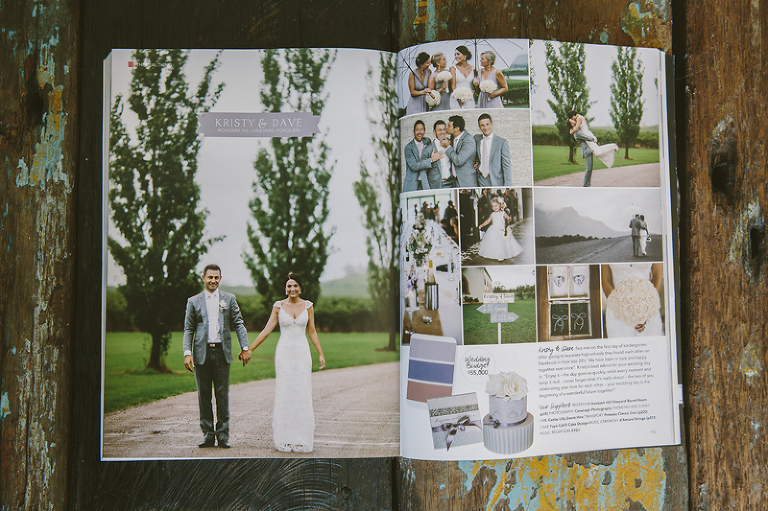 Hunter Valley Wedding Planner Magazine- Real Wedding Feature