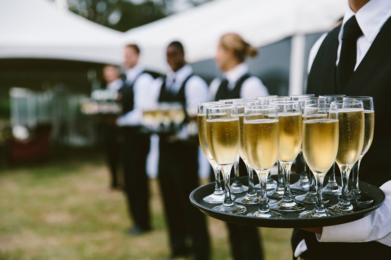 Ceremony Between Reception: Wedding Drinks