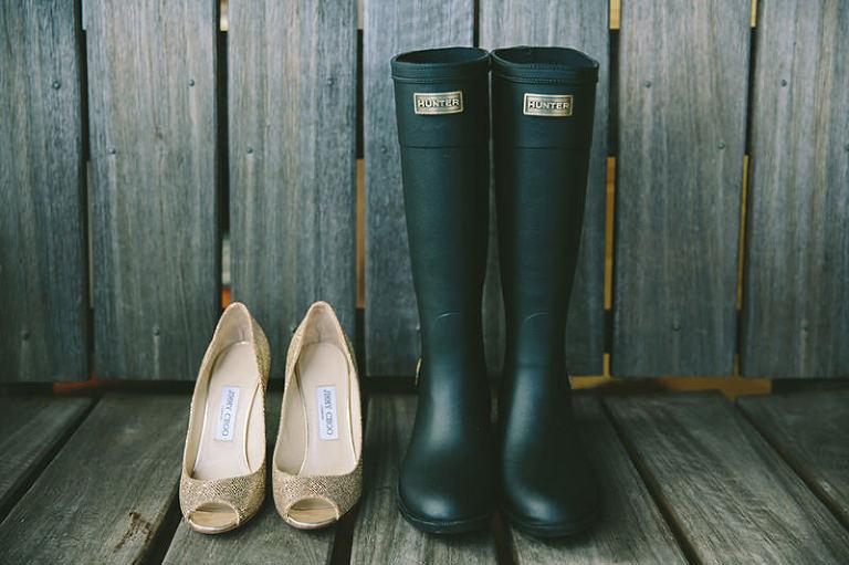Wet Weather Wedding