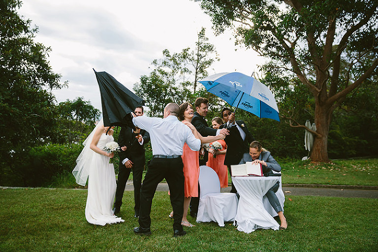 Wet Weather Wedding