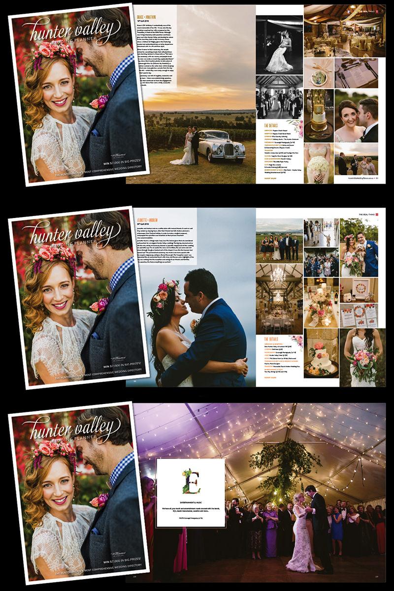 Hunter Valley Wedding Planner Magazine features