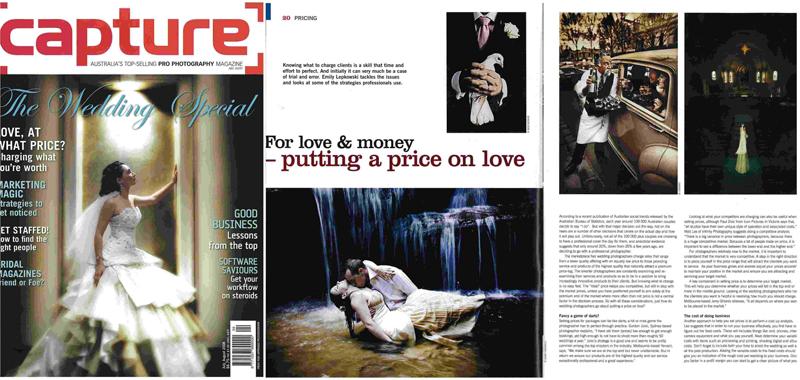 Capture Magazine article