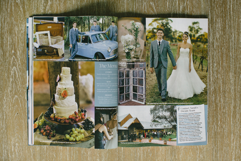 Cosmo Bride - Real Wedding Feature