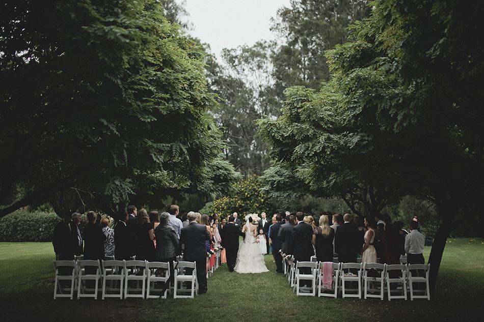 Outdoor wedding ceremony 7
