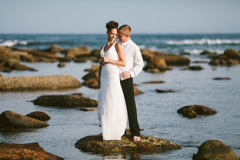 copacabana beach wedding