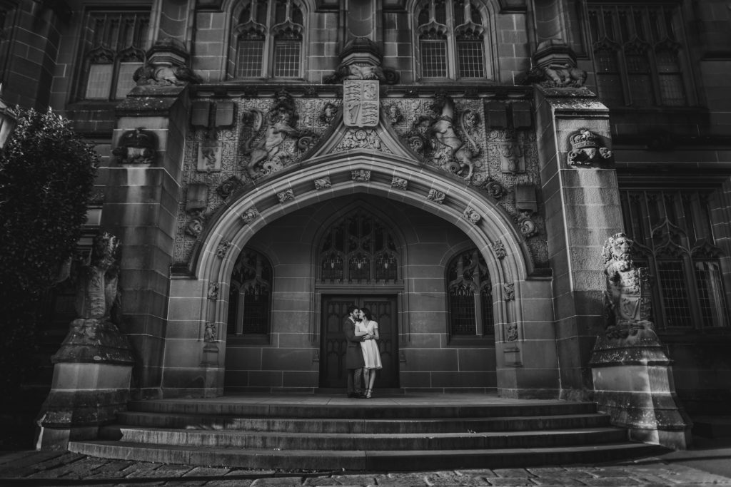 sydney university engagement photography