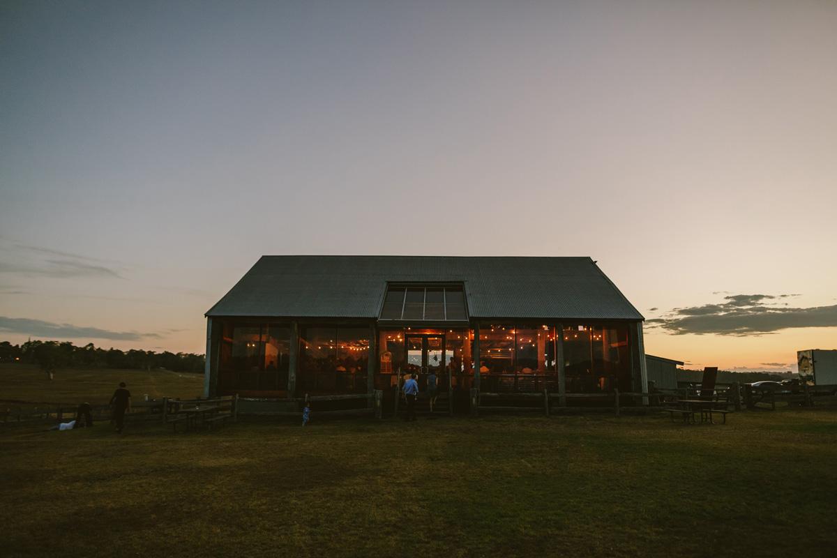 tocal homestead wedding