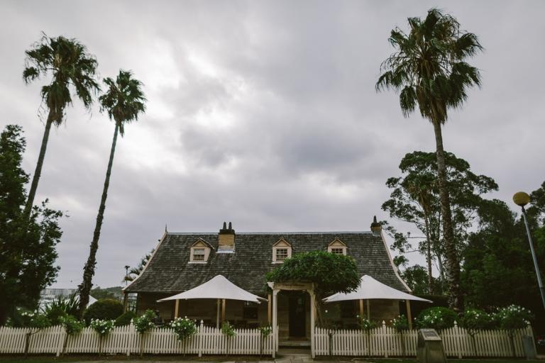 banjo paterson cottage restaurant wedding