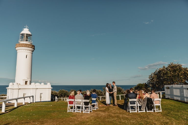 Norah Head Lighthouse wedding venue