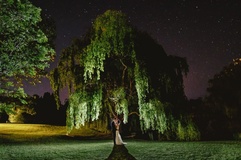 Briars Country lodge wedding with the stars