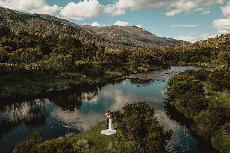 Lake crackenback wedding