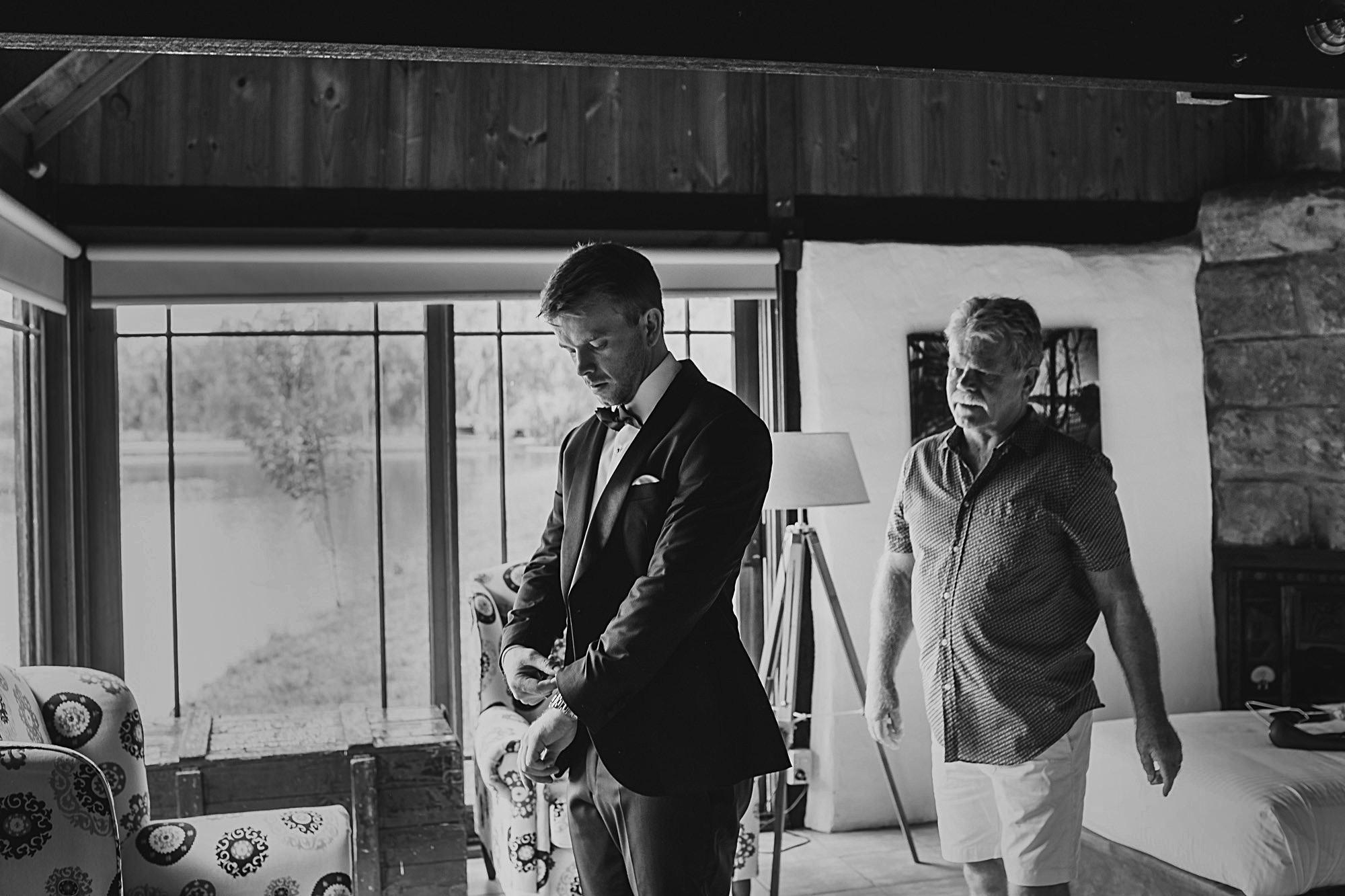 peppers creek barrel room wedding in the Hunter Valley.