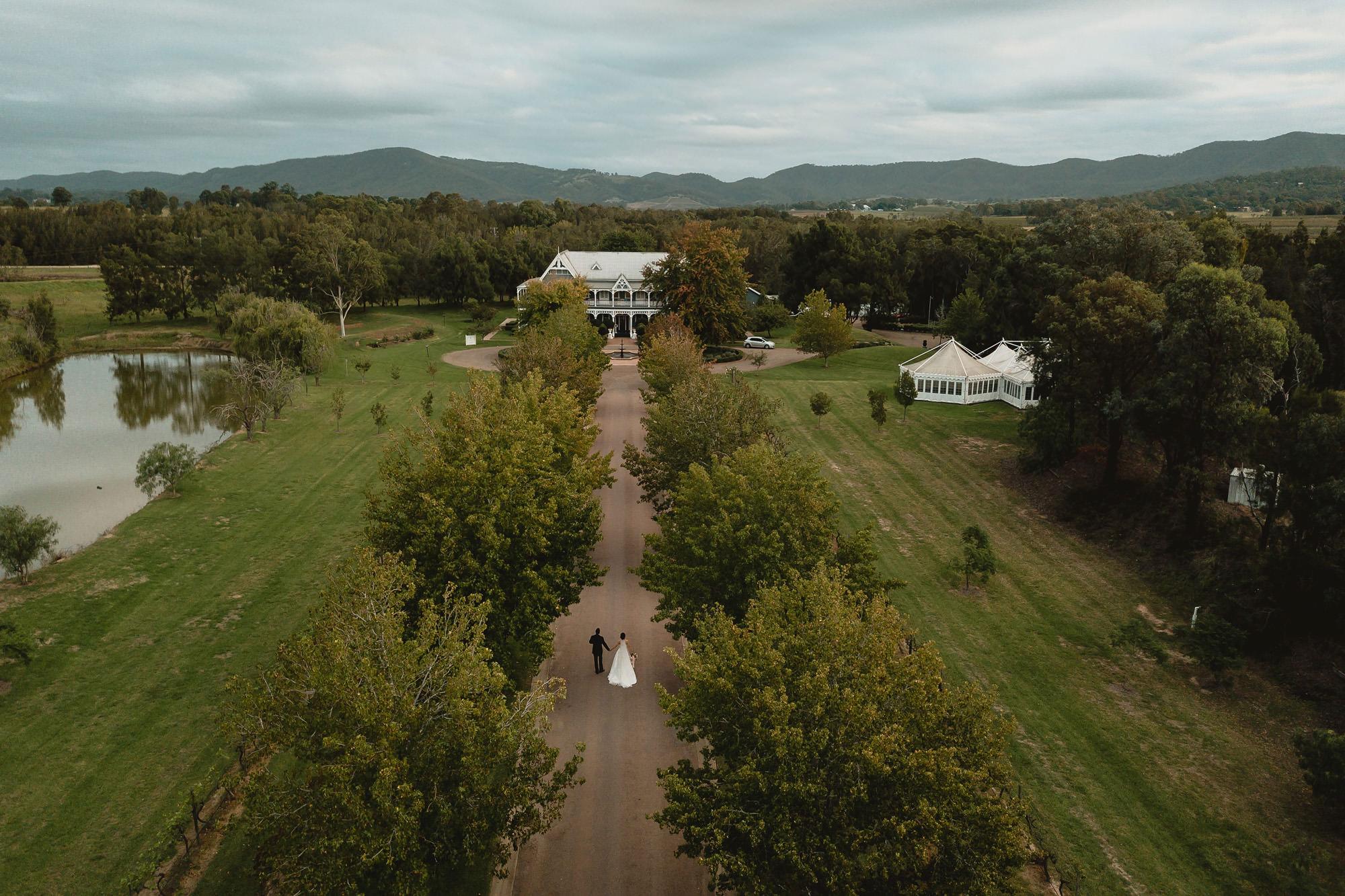 Circa 1876 The Convent wedding Hunter Valley