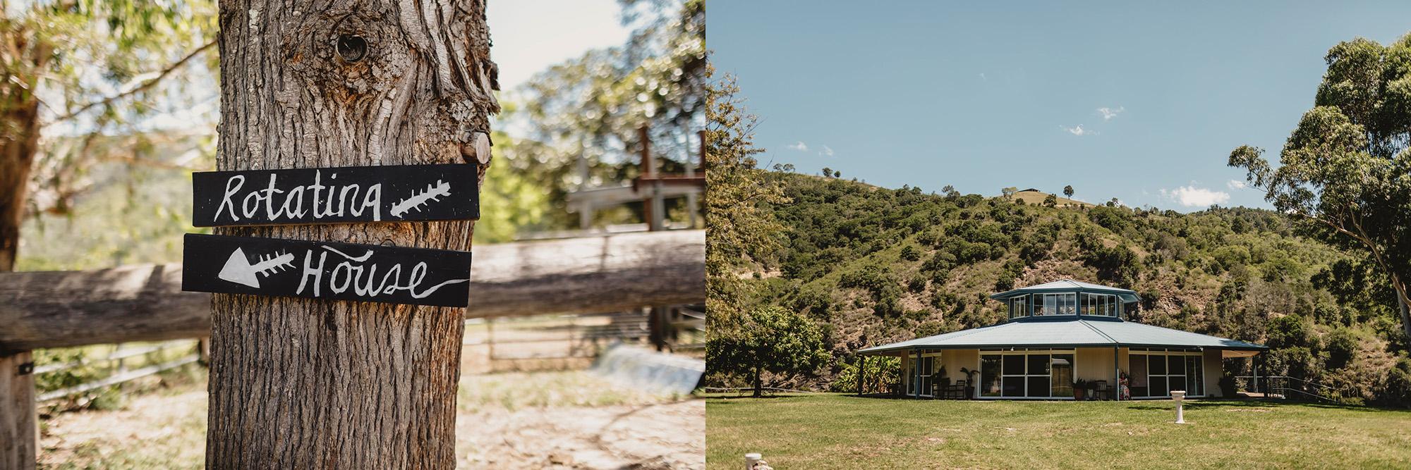 Longview farm wedding caffreys flat with rotating house