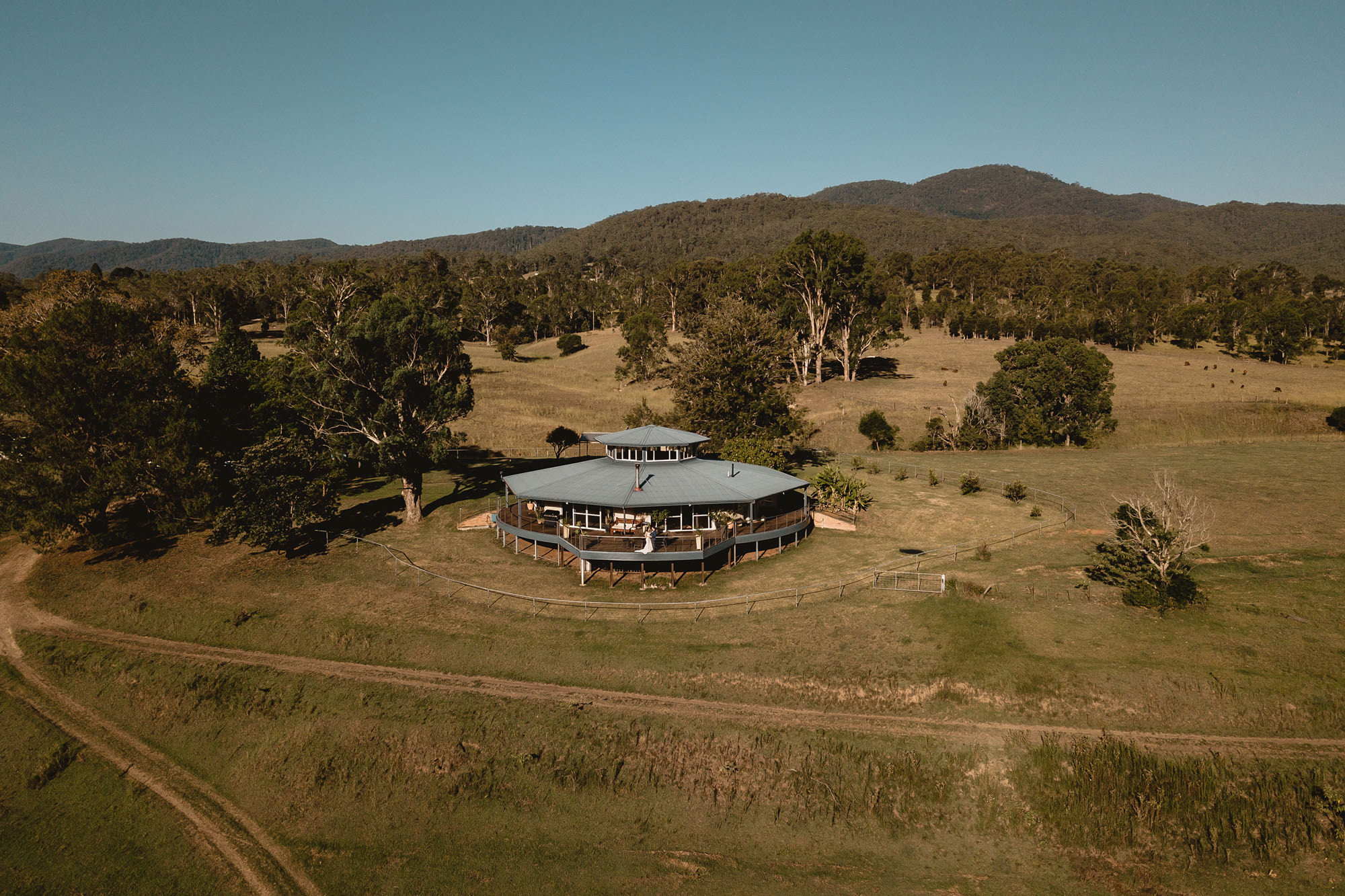 longview farm wedding, the rotating house