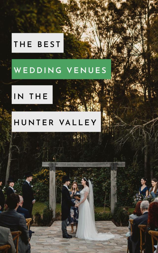 best wedding venues hunter valley