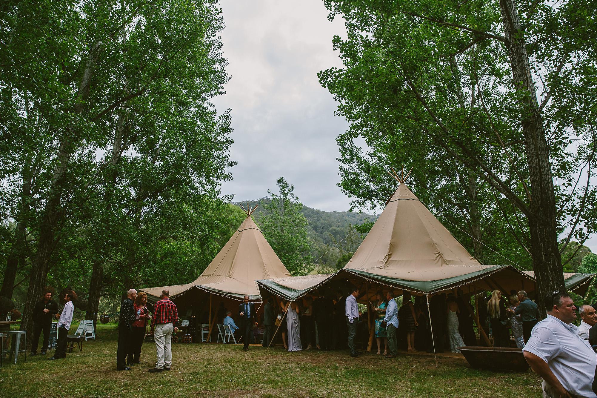 Stonehurst Cedar Creek Wedding reception