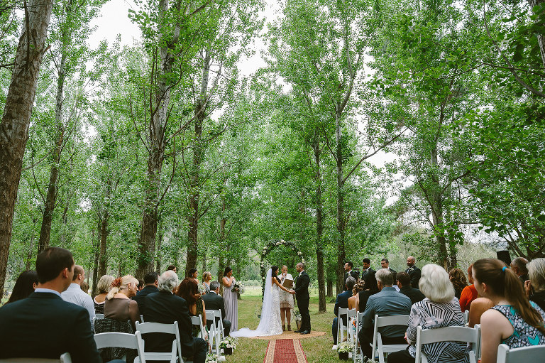 Stonehurst Cedar Creek Wedding ceremony