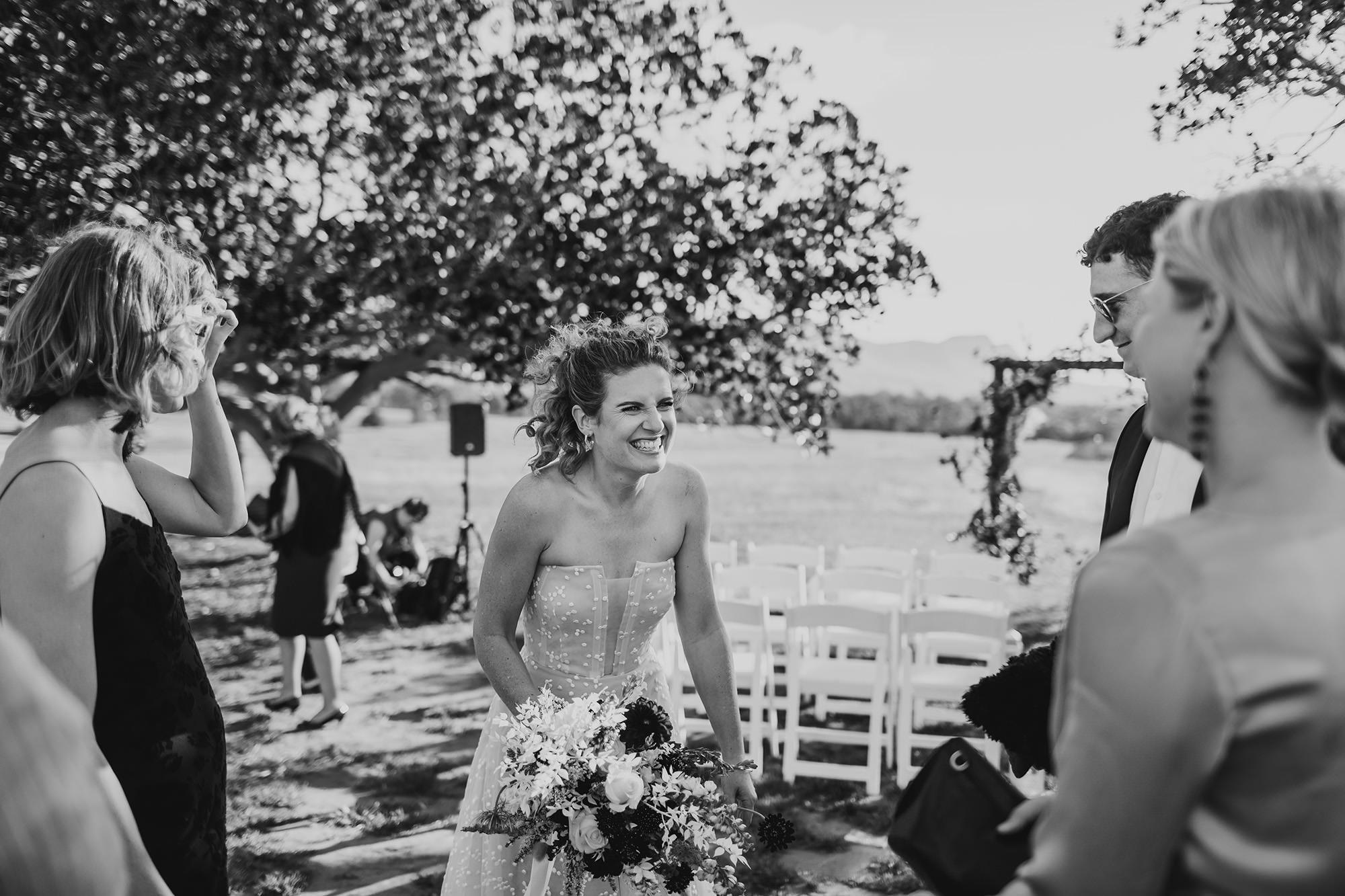 wedding at bimbadgen palmers lane hunter valley