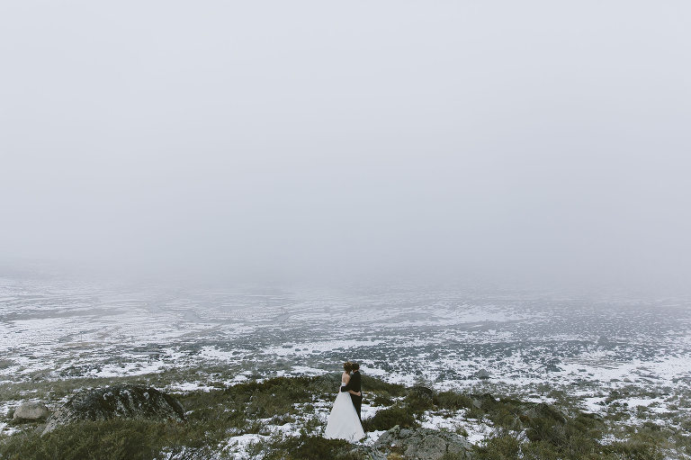 elopement packages Australia photography in the snow