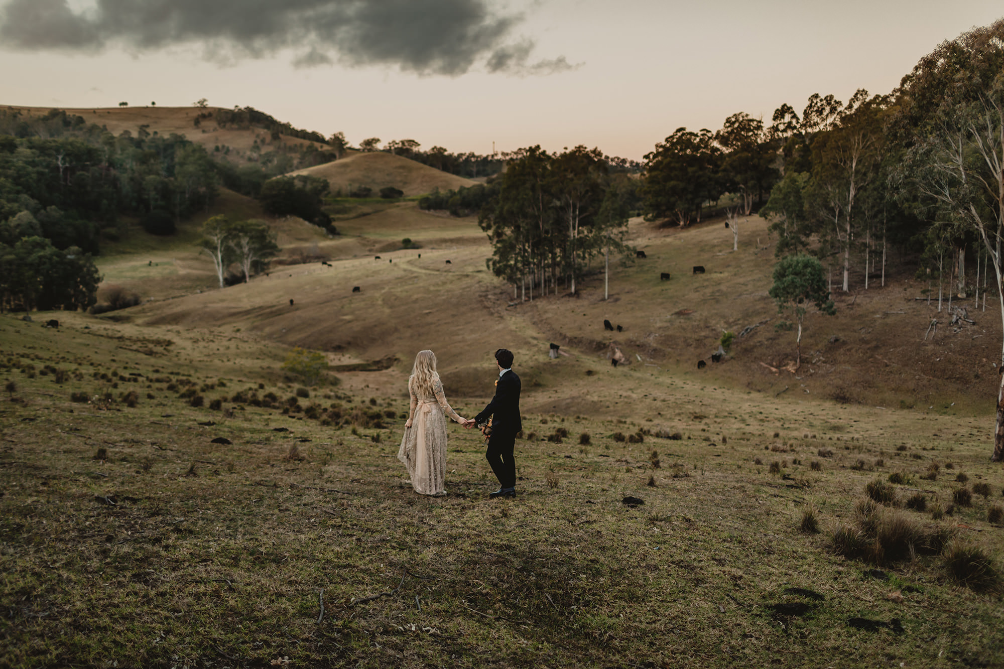 elopement photography hunter valley