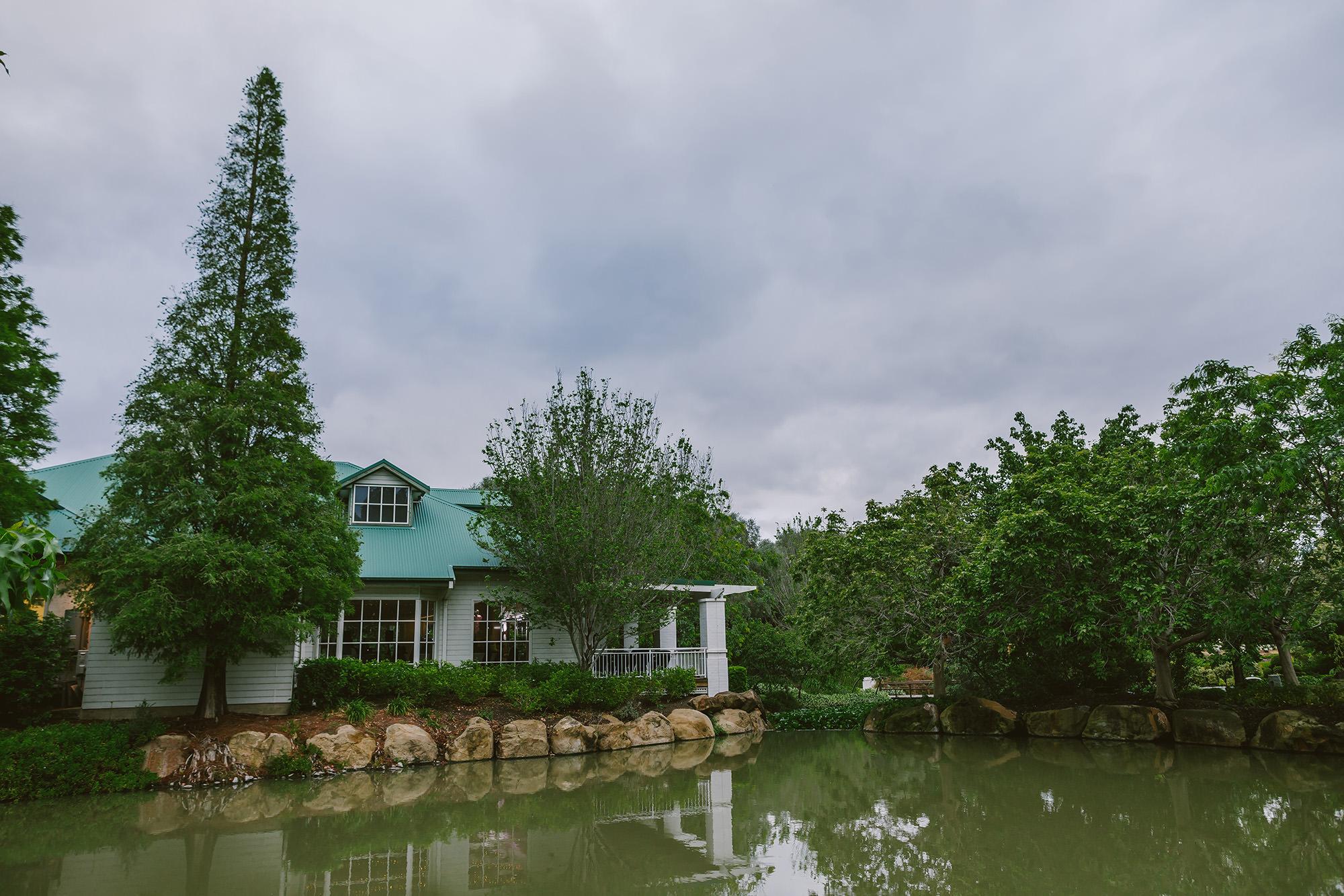 Hunter Valley Gardens Wedding reception venue