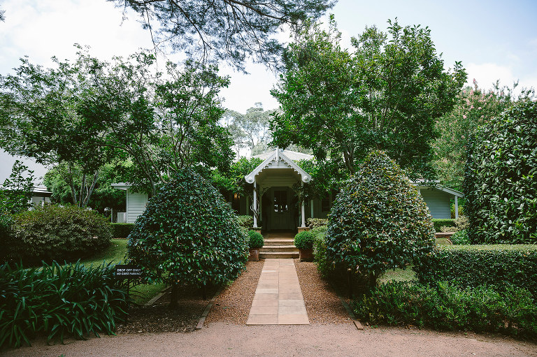 jaspers berry wedding venue with accommodation