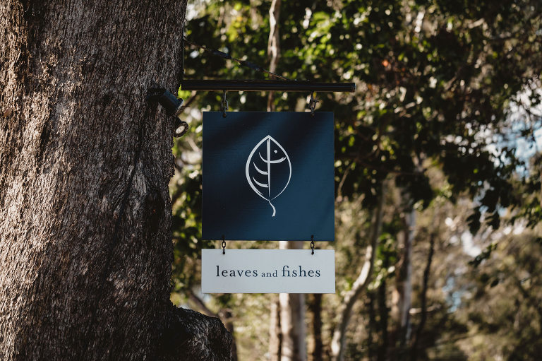 Leaves and Fishes wedding