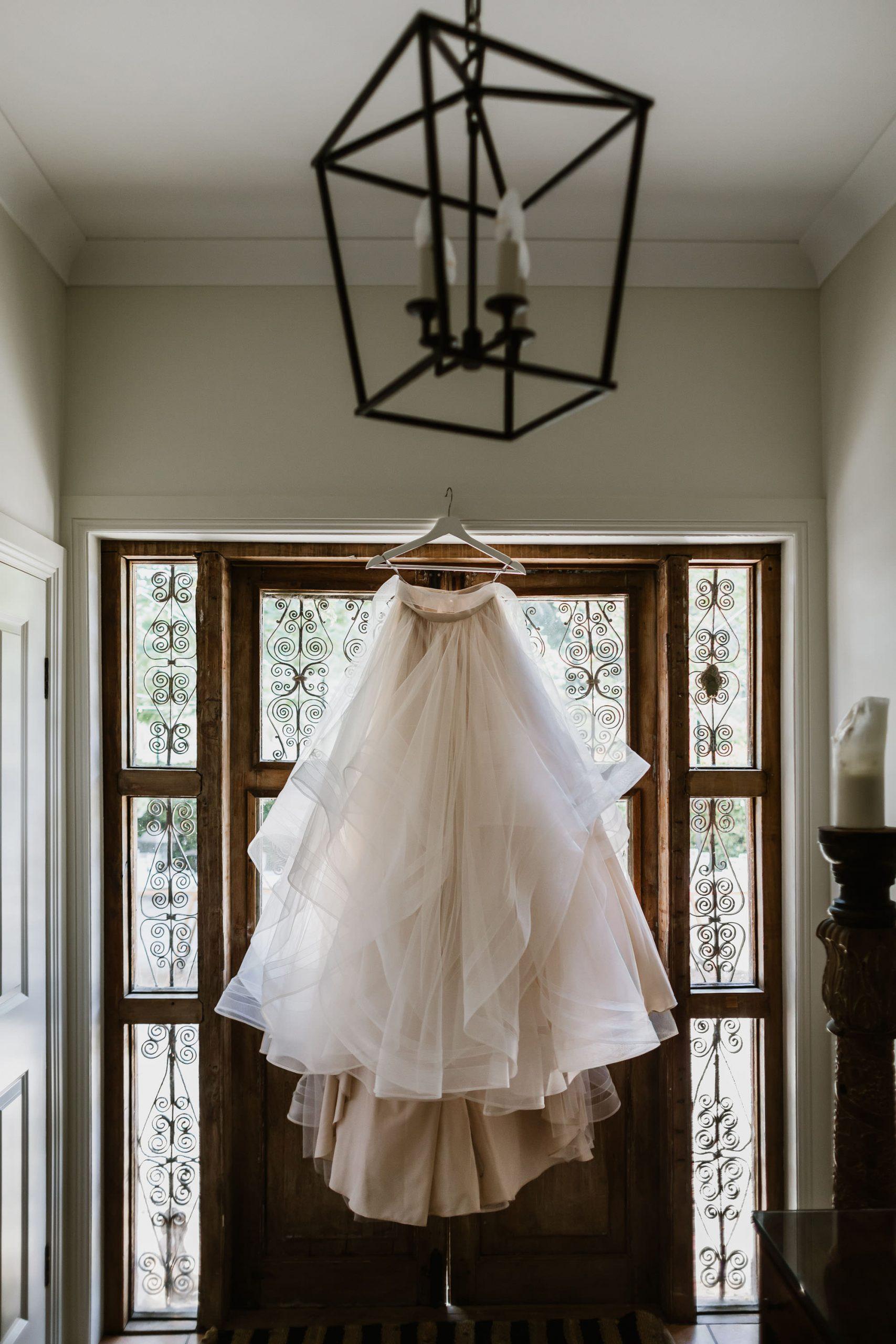 Wedding dress by Alison Davis