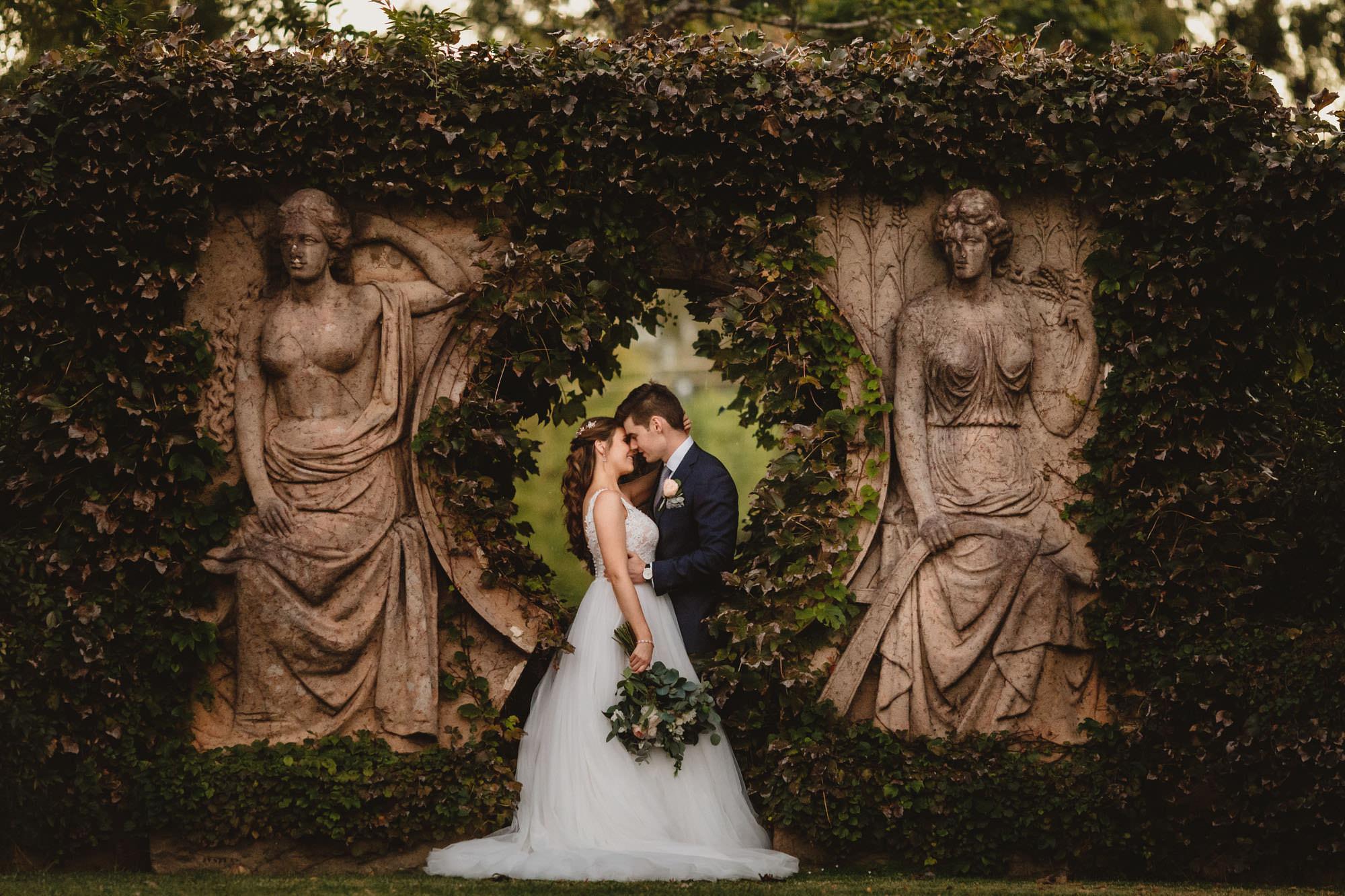 The Muse Albion Farm Gardens Wedding