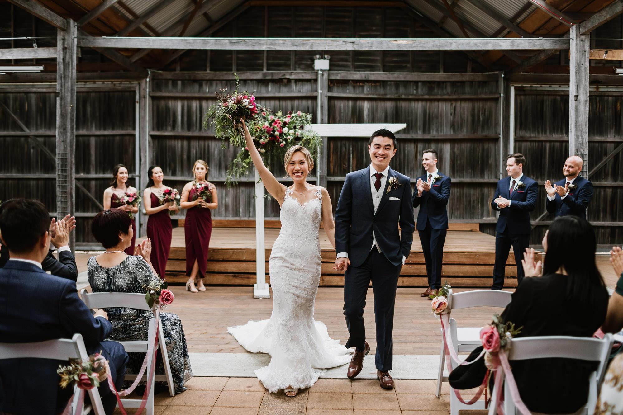 Ben Ean wedding