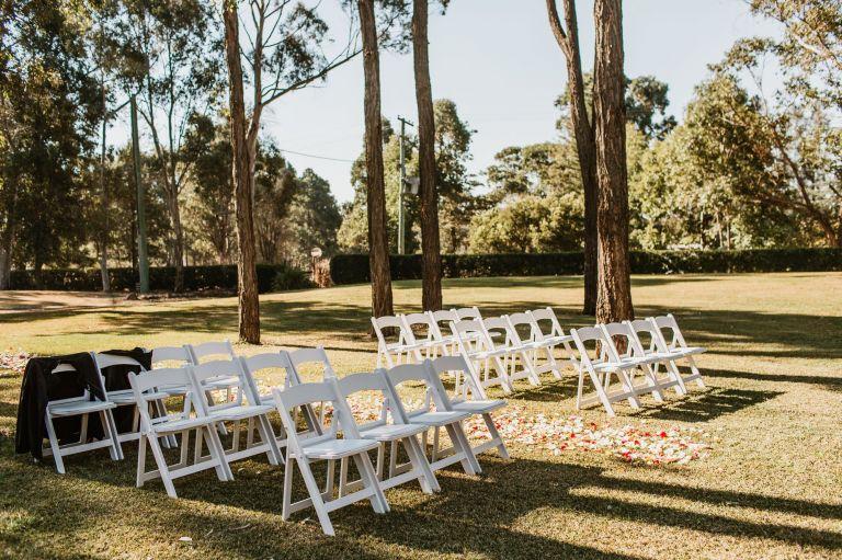 tamburlaine organic wines wedding