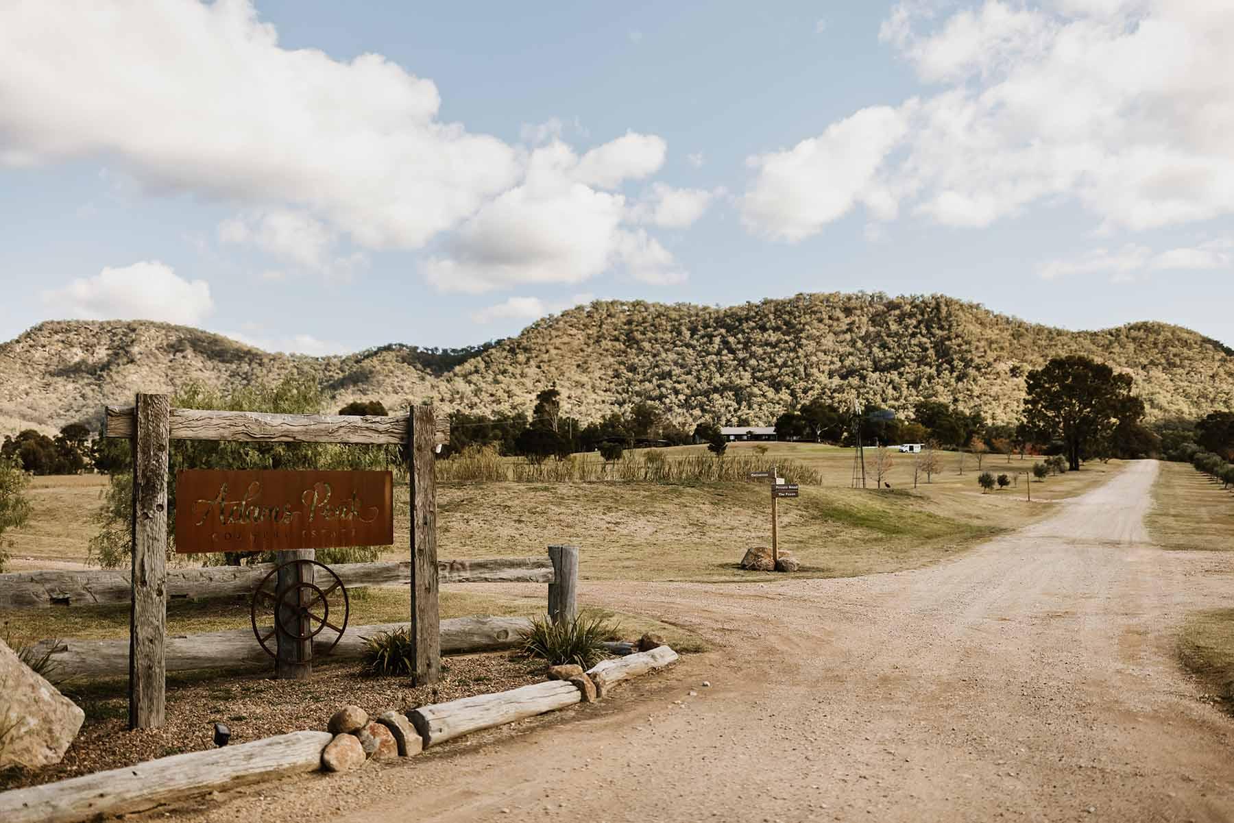 Adams Peak Country Estate entrance