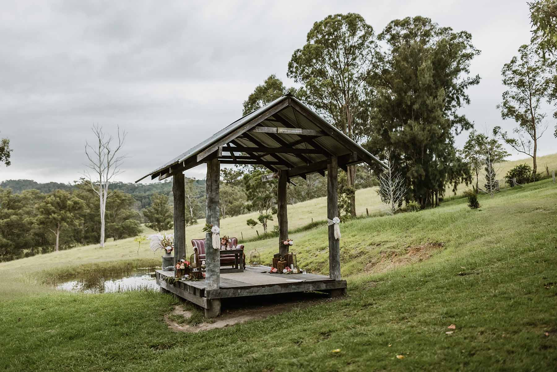 Goosewing cottage ceremony location